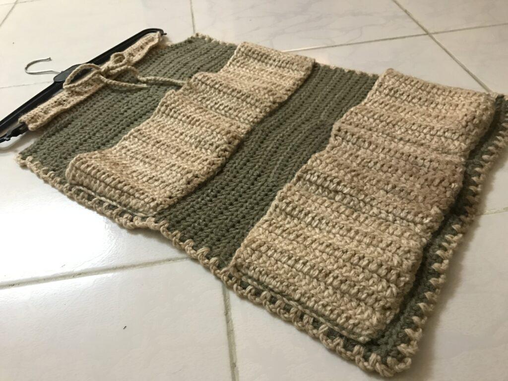 Crochet Toiletries Organizer